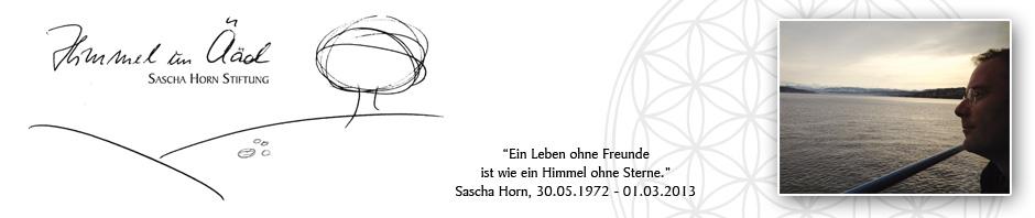 """Sascha Horn Stiftung """"Himmel un Ääd"""""""